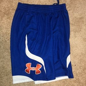 Under Armour basketball shorts youth XL